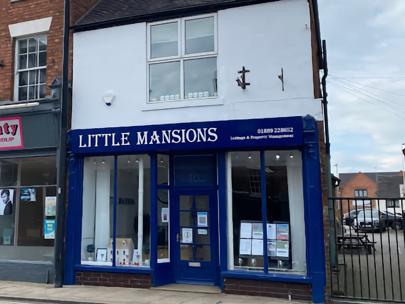 Little Mansions Uttoxeter branch